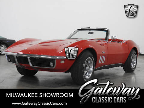 1968 Chevrolet Corvette for sale at Gateway Classic Cars - Milwaukee Showroom in Kenosha WI