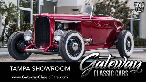 1932 Ford Hi-Boy for sale at Gateway Classic Cars - Tampa Showroom in Ruskin FL
