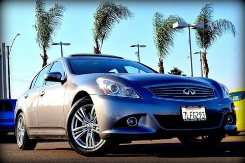 2011 Infiniti G25 Sedan for sale in El Cajon, CA