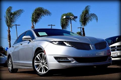 2015 Lincoln MKZ for sale in El Cajon, CA