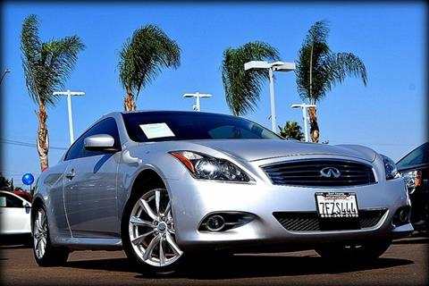 2011 Infiniti G37 Coupe for sale in El Cajon, CA