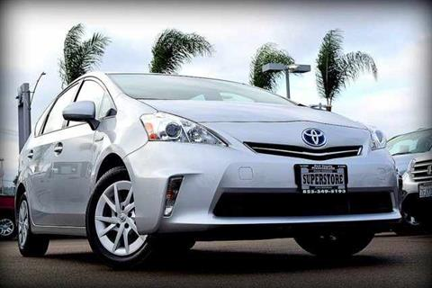 2014 Toyota Prius v for sale in El Cajon, CA