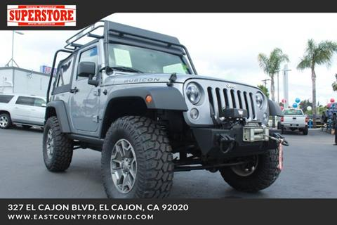 2014 Jeep Wrangler for sale in El Cajon, CA