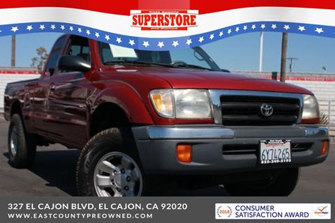 2000 Toyota Tacoma for sale in El Cajon, CA