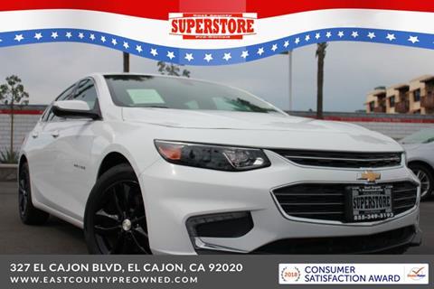 2018 Chevrolet Malibu for sale in El Cajon, CA
