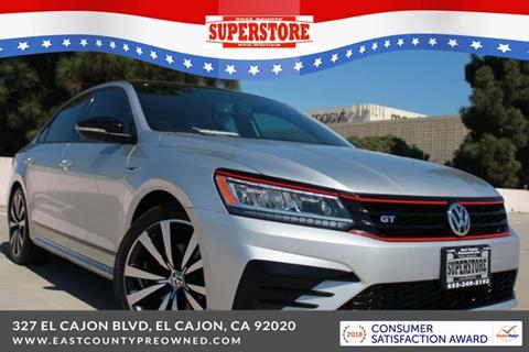 2018 Volkswagen Passat for sale in El Cajon, CA