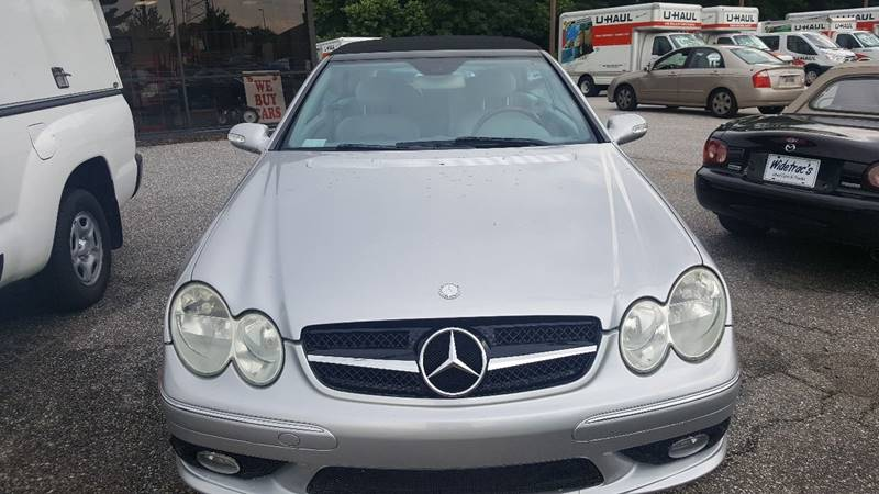 2005 Mercedes-Benz CLK CLK 500 2dr Cabriolet - Westminster MD