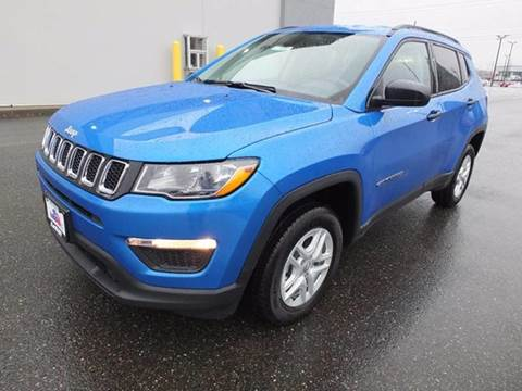 2018 Jeep Compass for sale at Karmart in Burlington WA