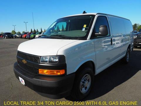 2019 Chevrolet Express Cargo for sale in Burlington, WA