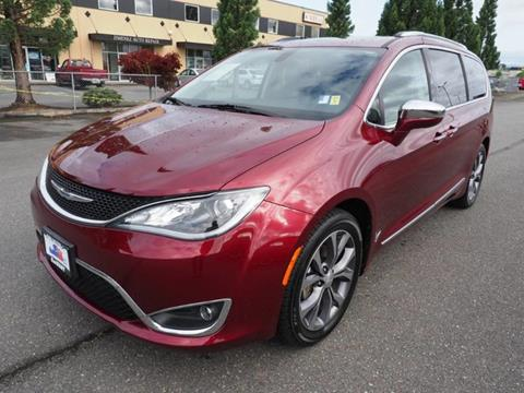 2017 Chrysler Pacifica for sale in Burlington, WA