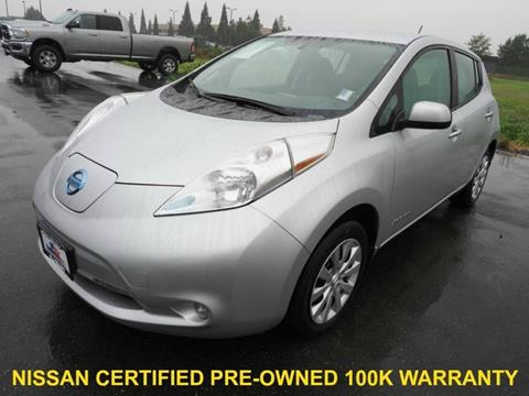 2015 Nissan LEAF for sale in Burlington, WA