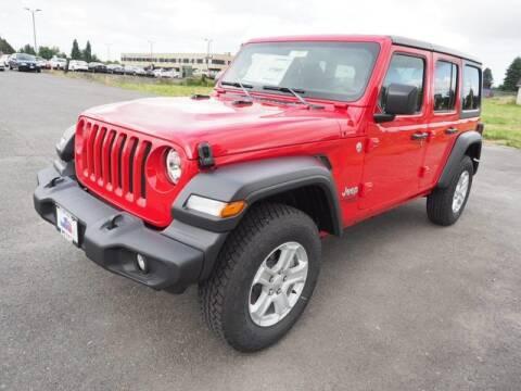 2020 Jeep Wrangler Unlimited for sale at Karmart in Burlington WA