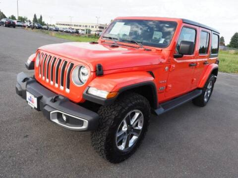 2018 Jeep Wrangler Unlimited for sale at Karmart in Burlington WA