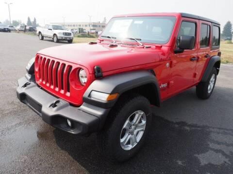 2021 Jeep Wrangler Unlimited for sale at Karmart in Burlington WA