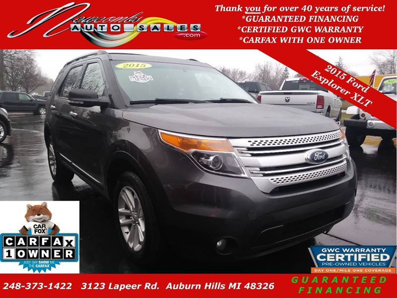 used detail haims at hollywood xlt ford motors fwd explorer
