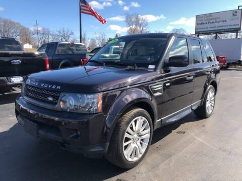 2010 Land Rover Range Rover Sport for sale at Newcombs Auto Sales in Auburn Hills MI