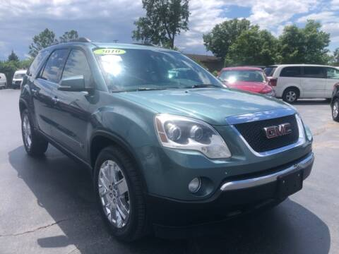 2010 GMC Acadia for sale at Newcombs Auto Sales in Auburn Hills MI