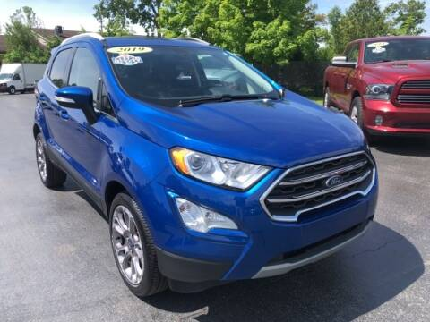 2019 Ford EcoSport for sale at Newcombs Auto Sales in Auburn Hills MI