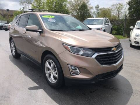 2018 Chevrolet Equinox for sale at Newcombs Auto Sales in Auburn Hills MI