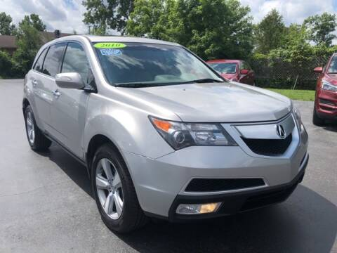2010 Acura MDX for sale at Newcombs Auto Sales in Auburn Hills MI