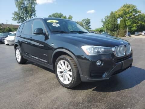 2016 BMW X3 for sale at Newcombs Auto Sales in Auburn Hills MI