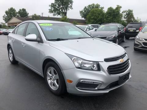 2015 Chevrolet Cruze for sale at Newcombs Auto Sales in Auburn Hills MI