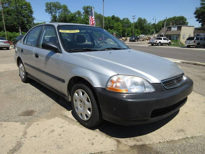 1998 honda civic dx 4dr sedan in mound mn mainstreet usa for Motor oil for honda civic 1998