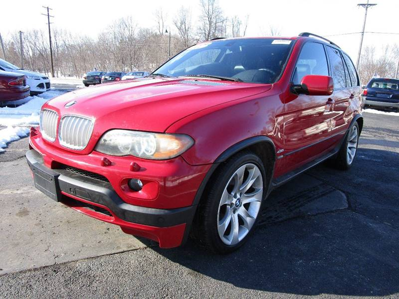 2004 Bmw X5 AWD 4.8is 4dr SUV In Mound MN - Mainstreet USA Inc.