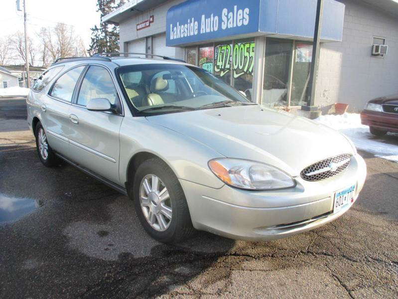 2003 ford taurus sel deluxe 4dr wagon in mound mn. Black Bedroom Furniture Sets. Home Design Ideas