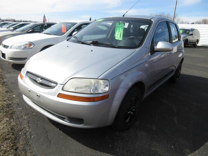 2006 chevrolet aveo ls 4dr hatchback in mound mn. Black Bedroom Furniture Sets. Home Design Ideas
