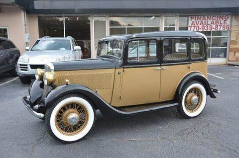 1935 Hillman Minx for sale at Amyn Motors Inc. in Tucker GA