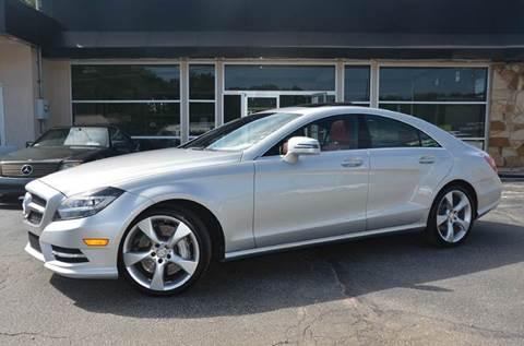 2014 Mercedes-Benz CLS for sale at Amyn Motors Inc. in Tucker GA