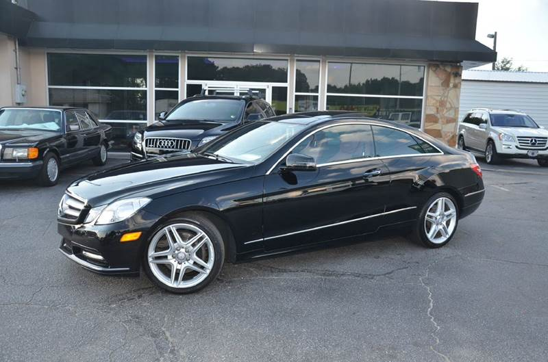 2013 Mercedes Benz E Class For Sale At Amyn Motors Inc. In Tucker