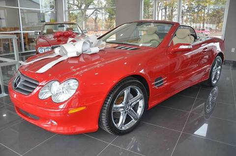 2005 Mercedes-Benz SL-Class for sale at Amyn Motors Inc. in Tucker GA