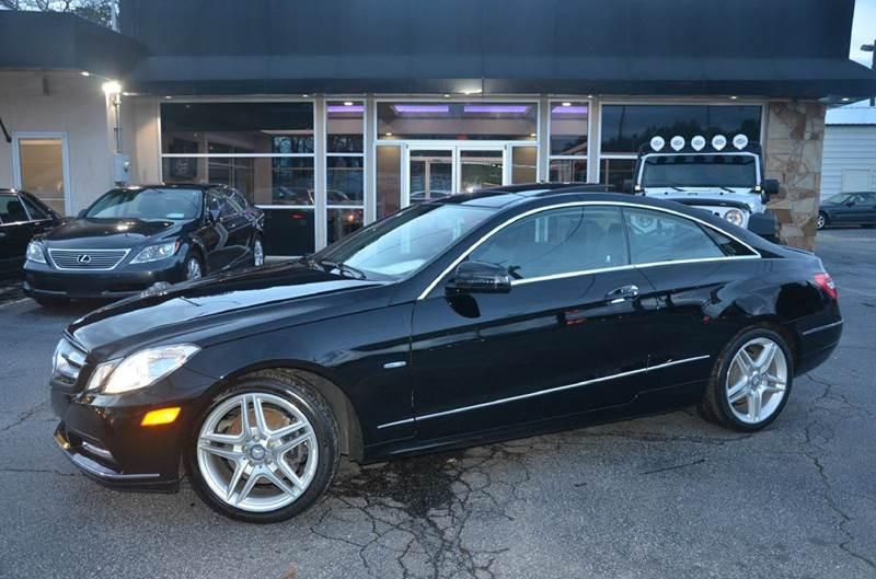 2012 Mercedes-Benz E-Class for sale at Amyn Motors Inc. in Tucker GA