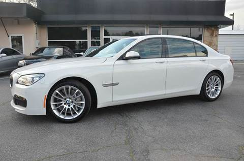 2013 BMW 7 Series for sale at Amyn Motors Inc. in Tucker GA