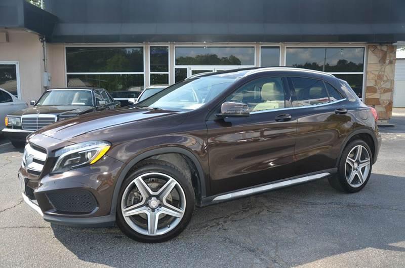 2015 Mercedes-Benz GLA for sale at Amyn Motors Inc. in Tucker GA