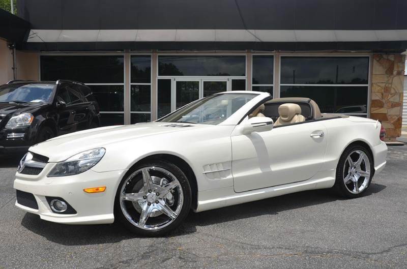 2009 Mercedes-Benz SL-Class for sale at Amyn Motors Inc. in Tucker GA