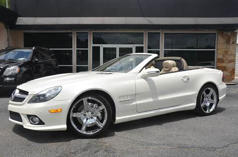 2009 Mercedes-Benz SL-Class for sale at Amyn Motors Inc. in Tucker GA