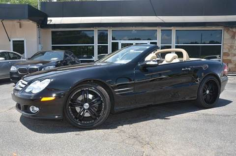 2007 Mercedes-Benz SL-Class for sale at Amyn Motors Inc. in Tucker GA