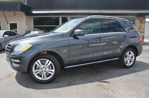 2012 Mercedes-Benz M-Class for sale at Amyn Motors Inc. in Tucker GA