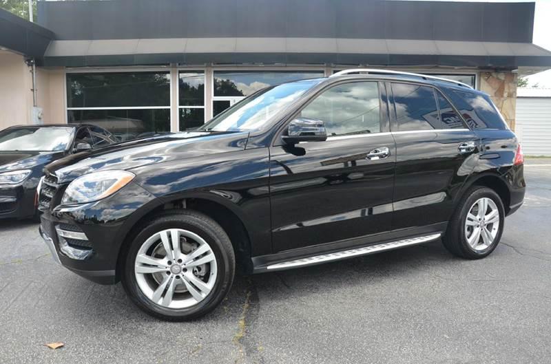 2015 Mercedes-Benz M-Class for sale at Amyn Motors Inc. in Tucker GA