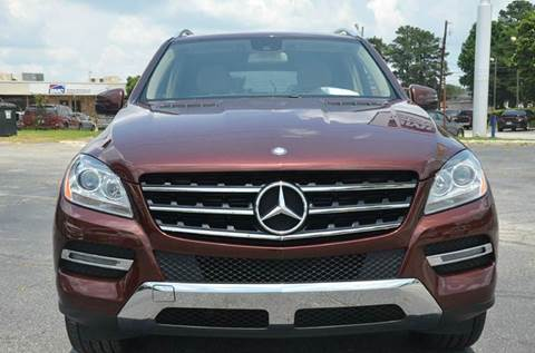 2014 Mercedes-Benz M-Class for sale at Amyn Motors Inc. in Tucker GA