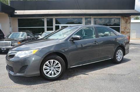 2012 Toyota Camry for sale at Amyn Motors Inc. in Tucker GA