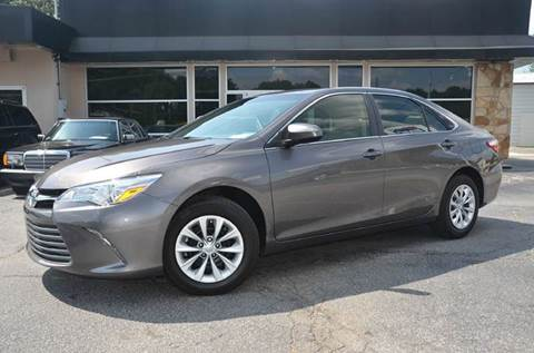 2017 Toyota Camry for sale at Amyn Motors Inc. in Tucker GA