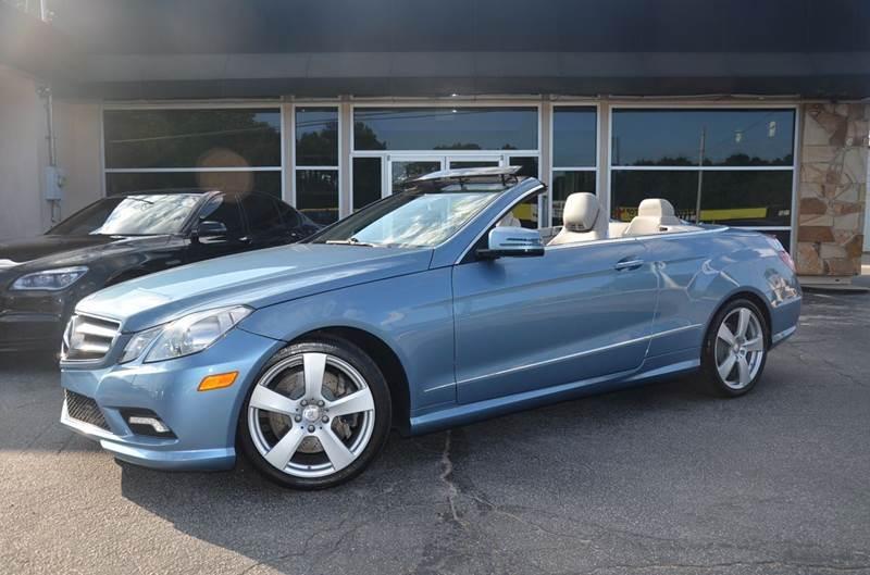 2011 Mercedes-Benz E-Class for sale at Amyn Motors Inc. in Tucker GA