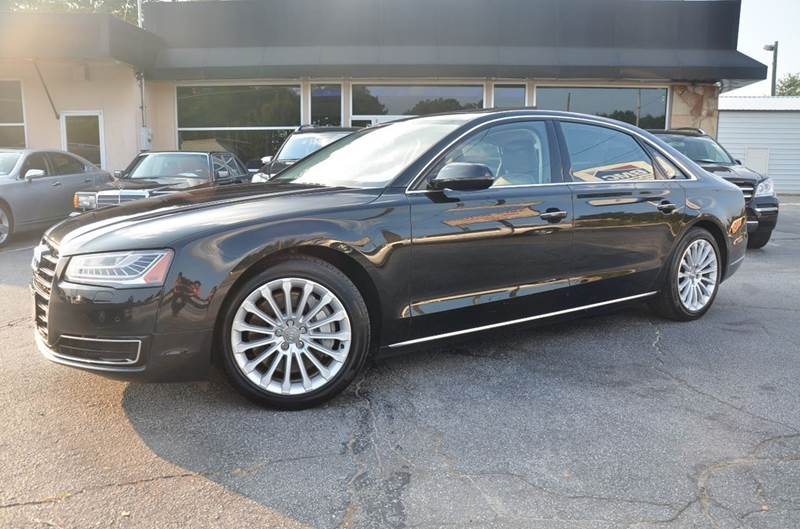 2015 Audi A8 L for sale at Amyn Motors Inc. in Tucker GA