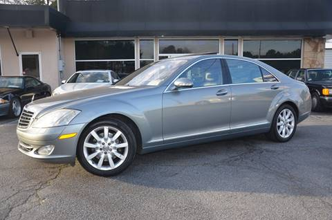 2007 Mercedes-Benz S-Class for sale at Amyn Motors Inc. in Tucker GA
