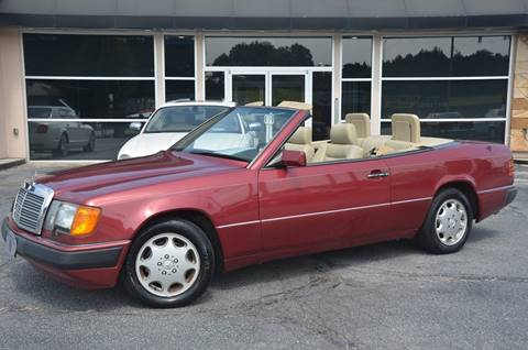 1993 Mercedes-Benz 300-Class for sale at Amyn Motors Inc. in Tucker GA