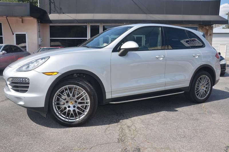 2012 Porsche Cayenne for sale at Amyn Motors Inc. in Tucker GA